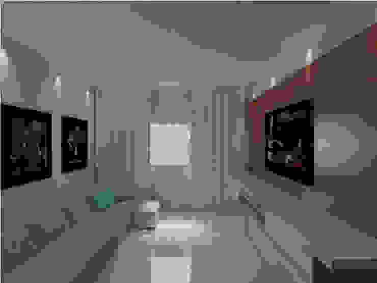 Salones minimalistas de Imaginare Arquitetura e Interiores Minimalista
