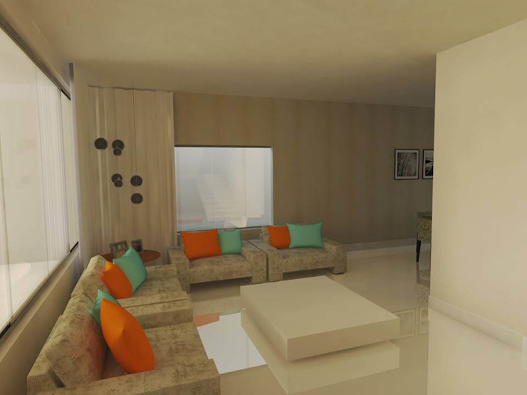 Sala estar Salas de estar minimalistas por Imaginare Arquitetura e Interiores Minimalista