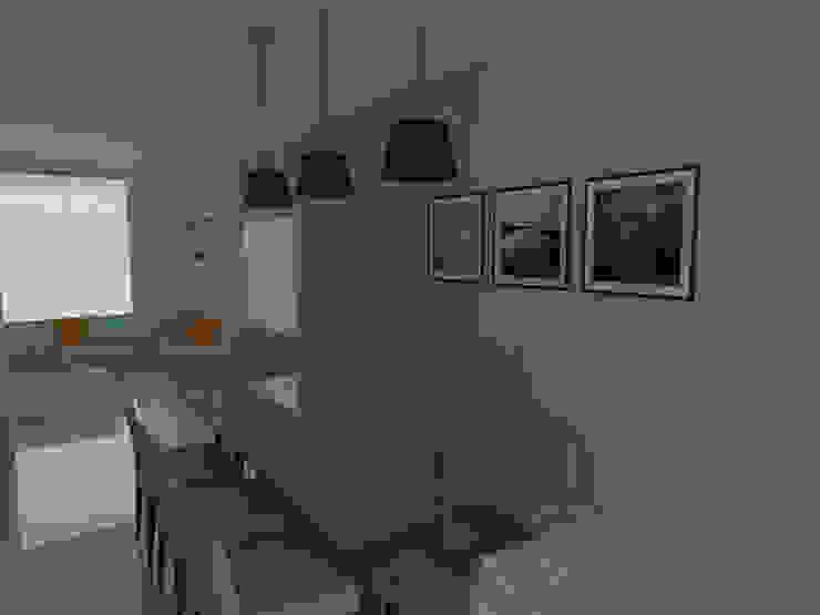 Comedores minimalistas de Imaginare Arquitetura e Interiores Minimalista
