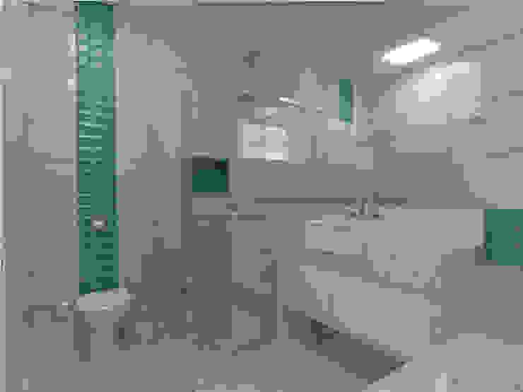 Minimalist style bathroom by Imaginare Arquitetura e Interiores Minimalist