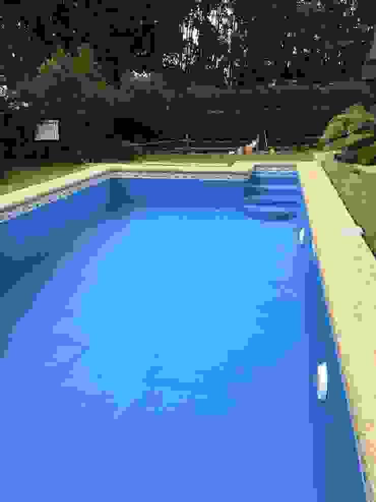 Piscina Puyehue 8x4 de Construccion piscinas Reyal osorno