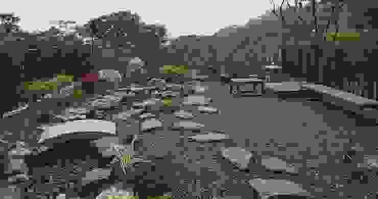 日式造景 根據 大地工房景觀公司 古典風
