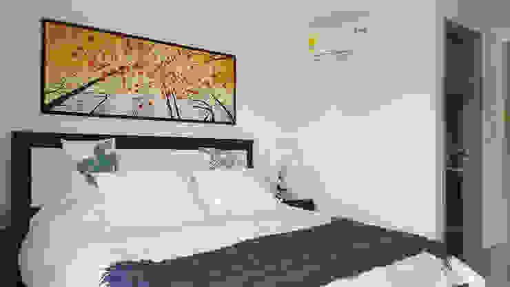 Modern style bedroom by Remodelar Proyectos Integrales Modern Wood Wood effect