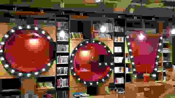 실내 조명 설치: Lightners의 현대 ,모던