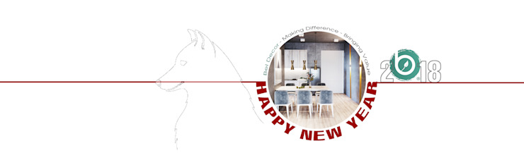 Happy New Year 2018! bởi Bel Decor