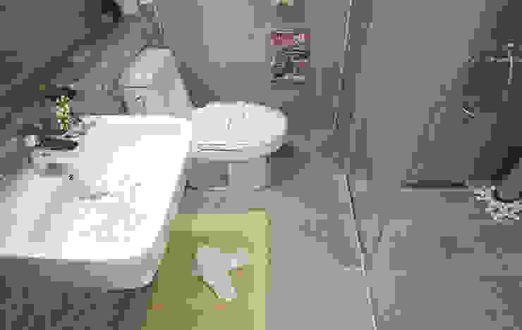 안산 센터하임 오피스텔 모델하우스 / F2-Type 모던스타일 욕실 by 에이프릴디아 모던