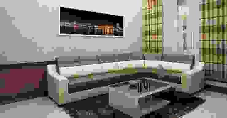 Bộ ghế sofa đơn giản Phòng khách phong cách châu Á bởi Công ty TNHH TK XD Song Phát Châu Á Đồng / Đồng / Đồng thau