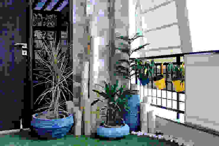 Bamboo Topography Modern garden by Grecor Modern