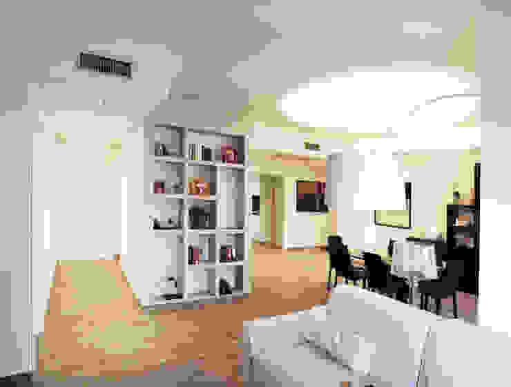 现代客厅設計點子、靈感 & 圖片 根據 3d-arch 現代風