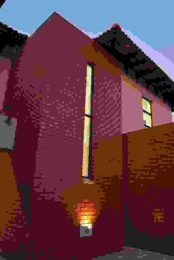 House P Tropical style houses by ANTONIO DE FRANCA HOME DESIGNS Tropical