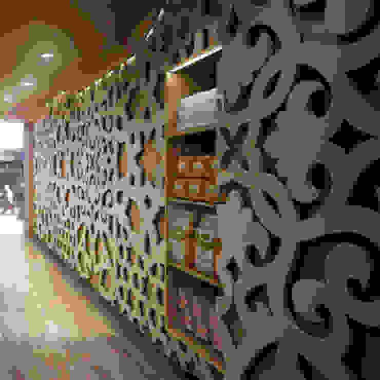 Wandrooster Dubai van Deco Wall Aziatisch