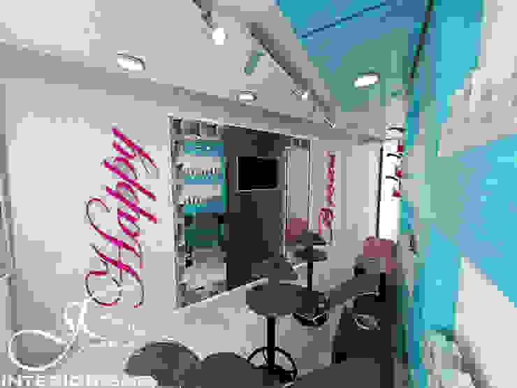 Diseño interior comercial de MAHO arquitectura y diseño, C.A Moderno Pizarra