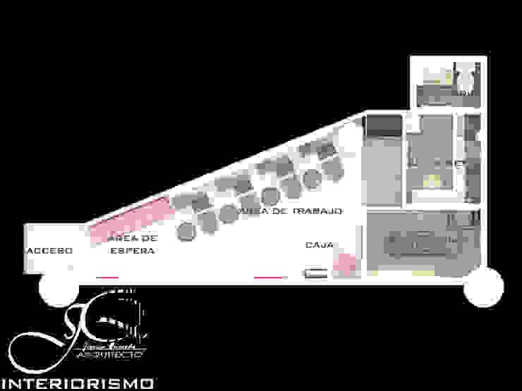 Diseño interior comercial Spa modernos de MAHO arquitectura y diseño, C.A Moderno Pizarra
