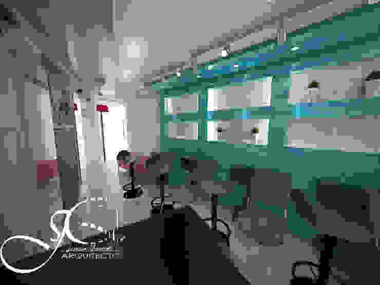 Diseño interior comercial de MAHO arquitectura y diseño, C.A Moderno Concreto