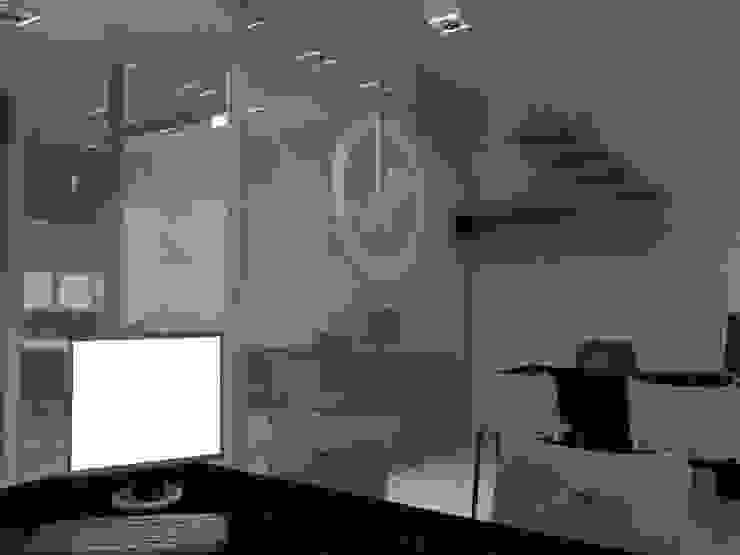 Diseño Interior Oficina Oficinas de estilo moderno de MAHO arquitectura y diseño, C.A Moderno Derivados de madera Transparente