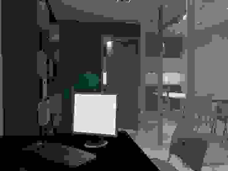Diseño Interior Oficina Oficinas de estilo moderno de MAHO arquitectura y diseño, C.A Moderno Compuestos de madera y plástico