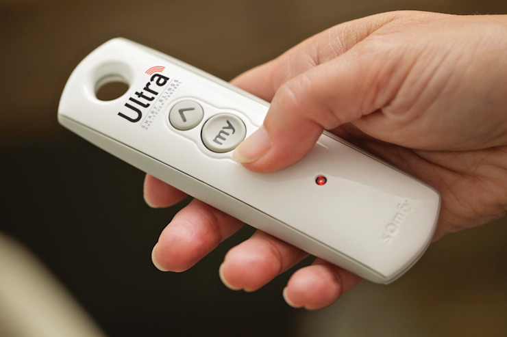 Ultra one-touch hand-held remote control Appeal Home Shading ห้องนอนสิ่งทอ