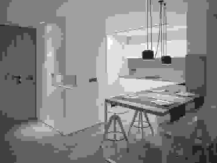 Proyecto 3D ático en Reus:  de estilo  de Luxiform Iluminación,