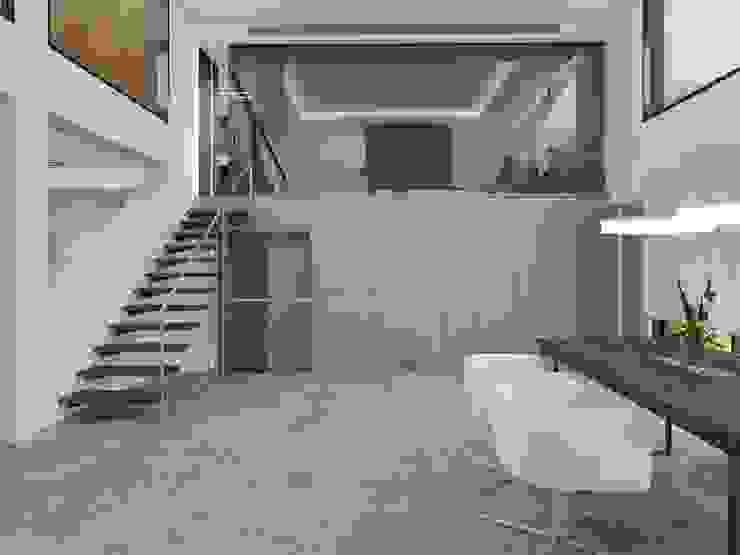 Proyecto 3D vivienda  en Tarragona:  de estilo  de Luxiform Iluminación,