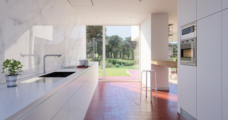 PGA Catalunya Resort Modern Kitchen by Graph Visual Studio Modern