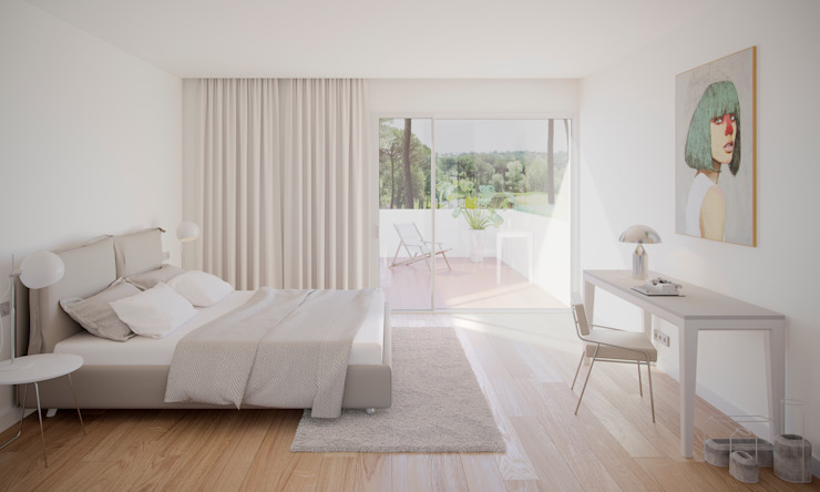 PGA Catalunya Resort Modern Bedroom by Graph Visual Studio Modern