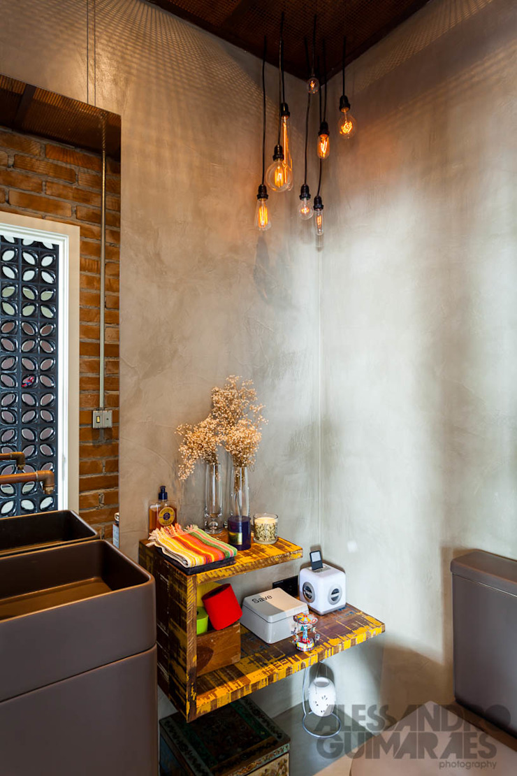 Apto 360 Banheiros industriais por Nautilo Arquitetura & Gerenciamento Industrial