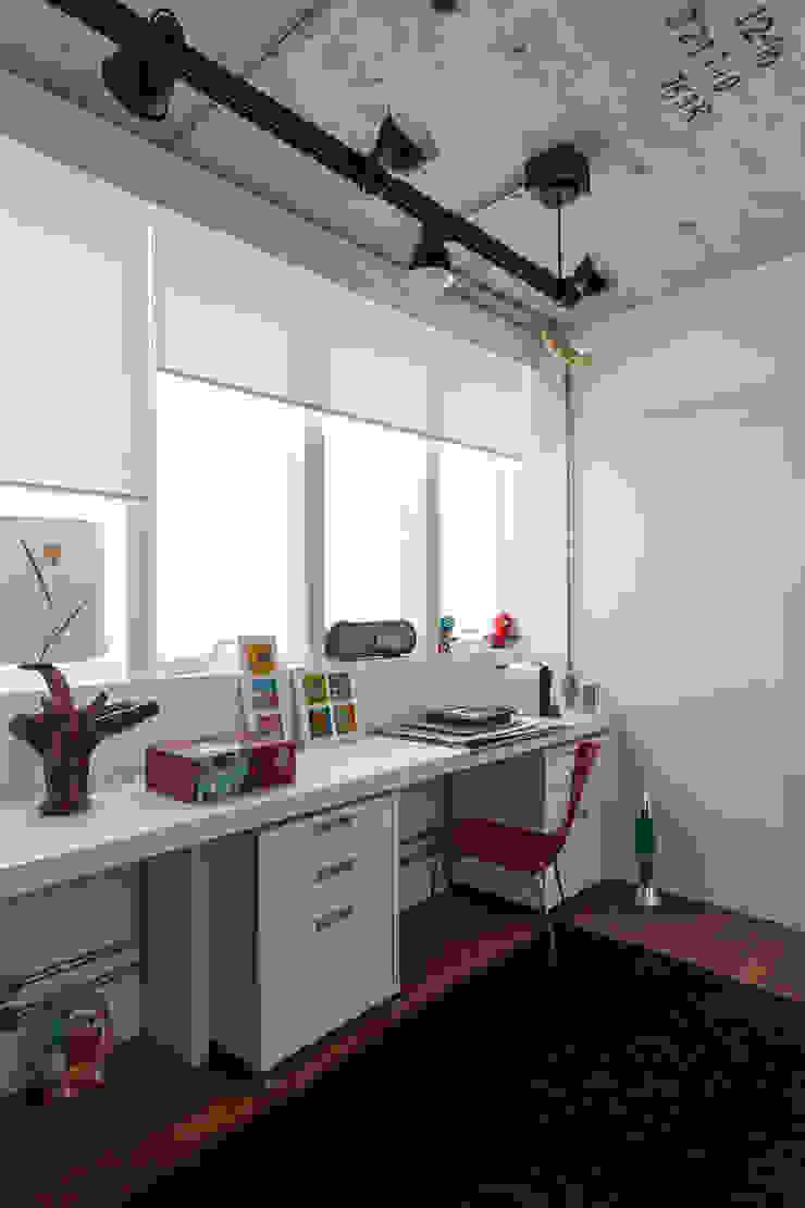 Estudios y despachos de estilo industrial de Nautilo Arquitetura & Gerenciamento Industrial