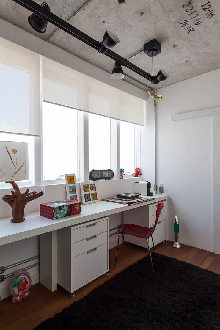 Apto 360 Escritórios industriais por Nautilo Arquitetura & Gerenciamento Industrial