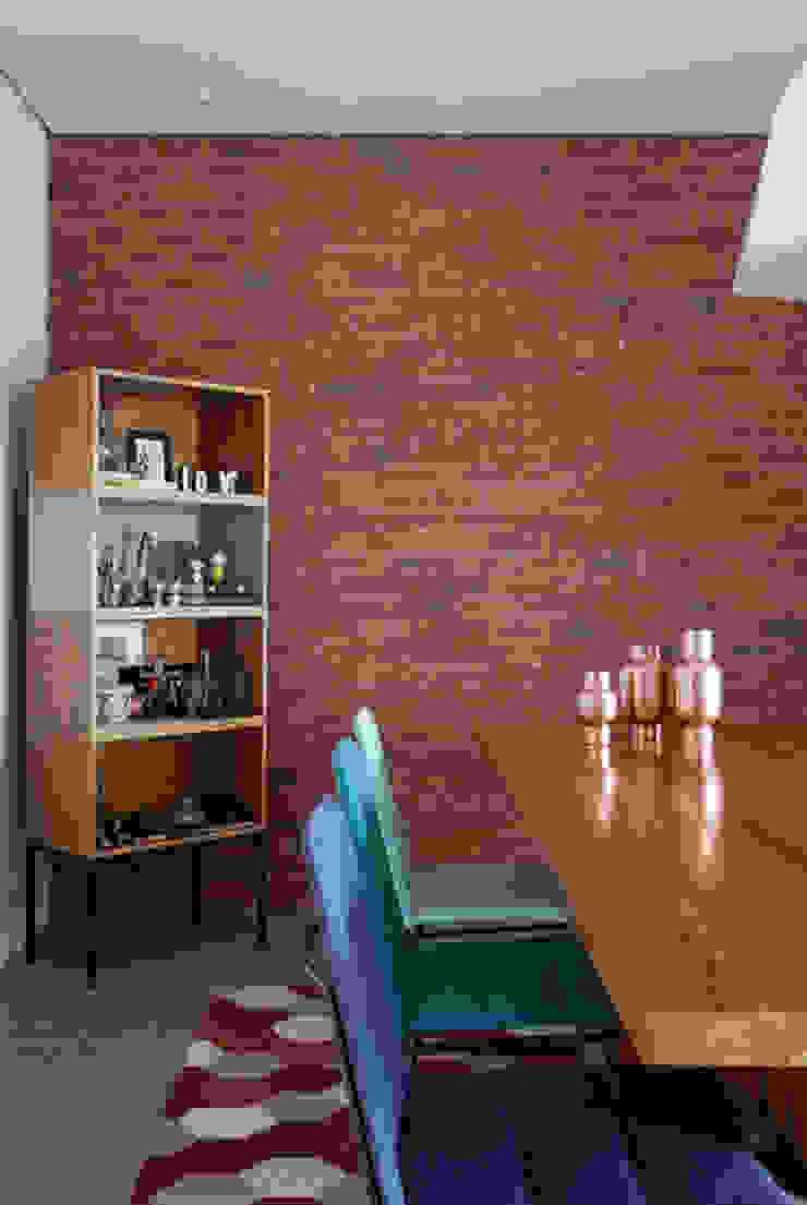 PROJETO RESIDENCIAL PGF Salas de jantar modernas por RP Estúdio - Roberta Polito e Luiz Gustavo Campos Moderno