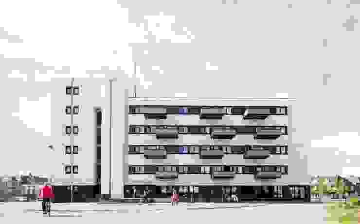 Transformatie <q>douanier</q> Roosendaal van Architectenburo de Vries en Theunissen