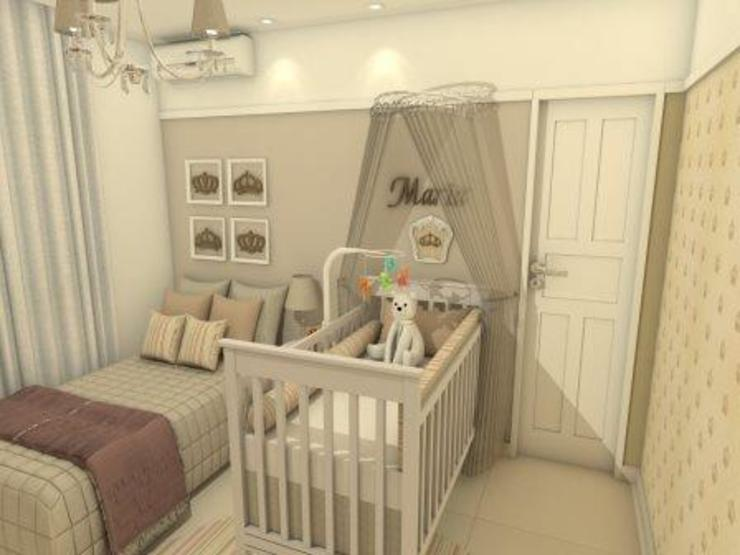 Babykamer door AT arquitetos,
