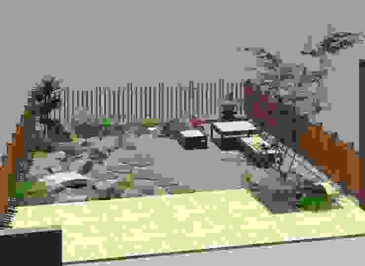 設計規劃 根據 大地工房景觀公司 古典風