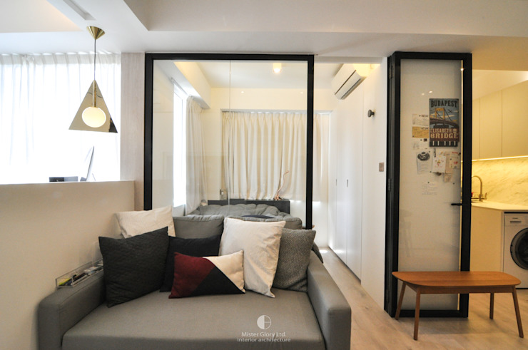 4 Minimalist bedroom by Mister Glory Ltd Minimalist