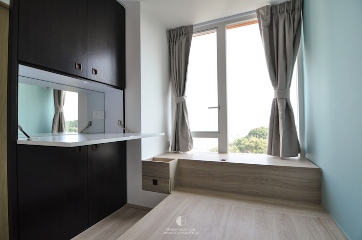 6 Minimalist bedroom by Mister Glory Ltd Minimalist