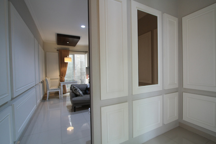 Modern Corridor, Hallway and Staircase by Exxo interior Modern