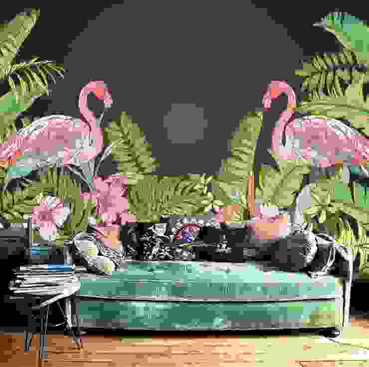 SK Concept Duvar Kağıtları  – Flamingo:  tarz Duvarlar,