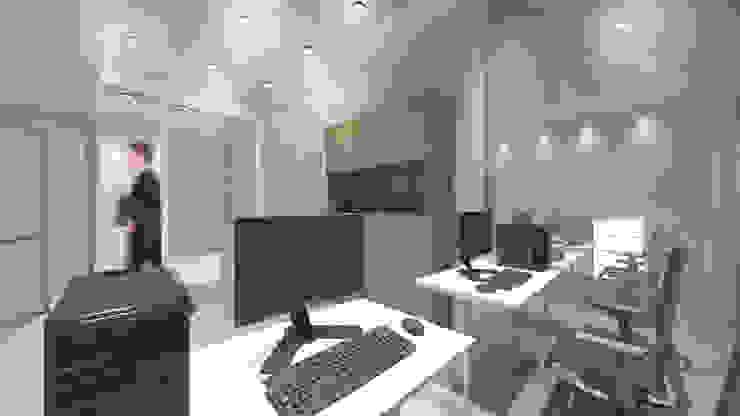 Office Area Ruang Studi/Kantor Minimalis Oleh ARAT Design Minimalis