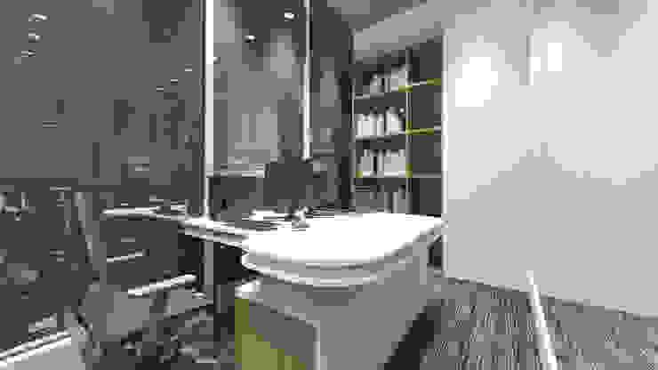 Director Room Ruang Studi/Kantor Minimalis Oleh ARAT Design Minimalis