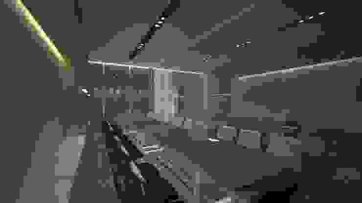 Meeting Room B Ruang Studi/Kantor Minimalis Oleh ARAT Design Minimalis