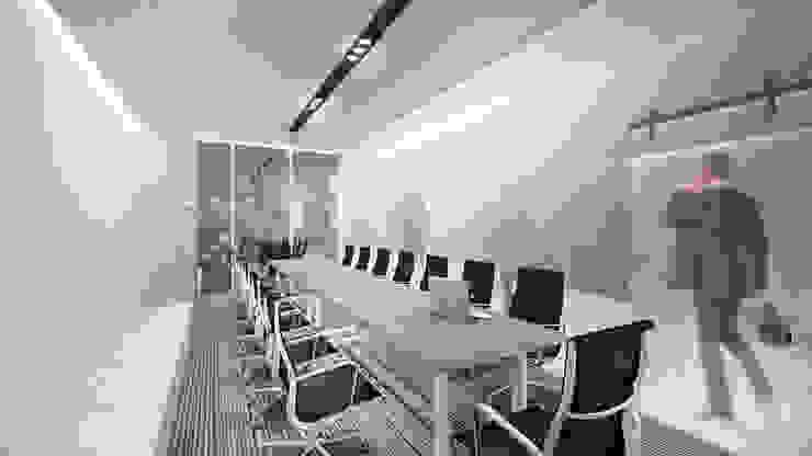 Meeting Room C Ruang Studi/Kantor Minimalis Oleh ARAT Design Minimalis