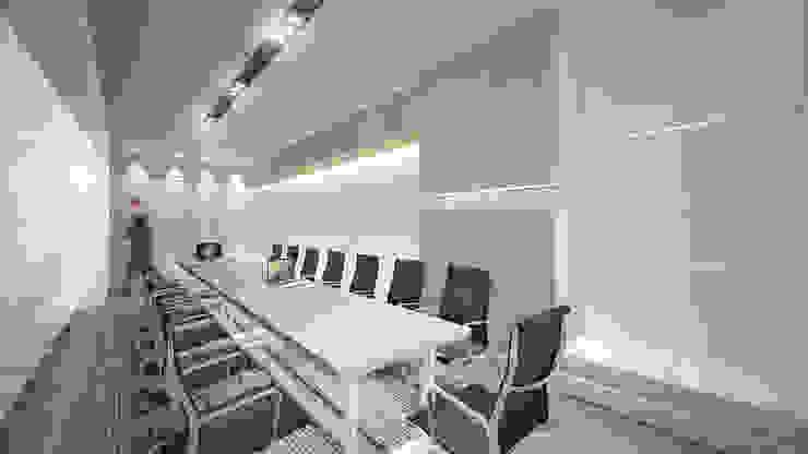 Meeting Room D Ruang Studi/Kantor Minimalis Oleh ARAT Design Minimalis