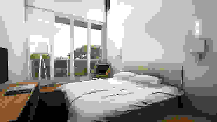 Bed Room A Kamar Tidur Minimalis Oleh ARAT Design Minimalis