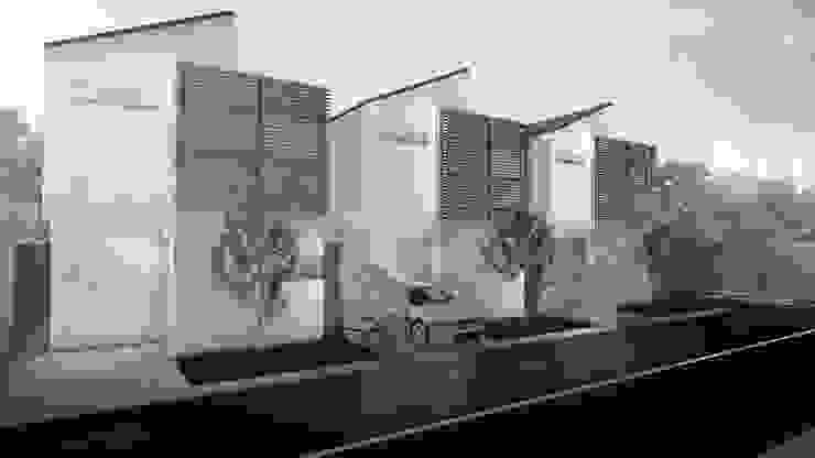 FACADE Rumah Minimalis Oleh ARAT Design Minimalis