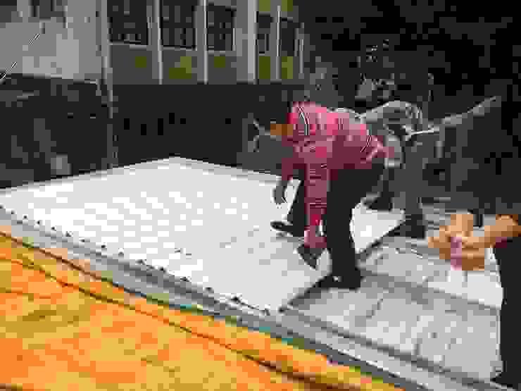 屋頂施工 根據 王家建築師事務所