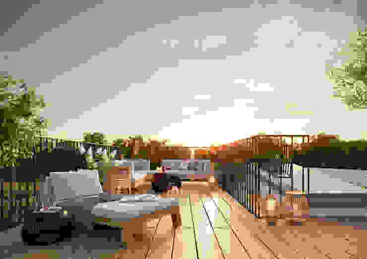Greenside – The name says it all 根據 JLL Residential Development 現代風