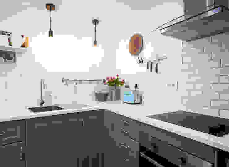Little Corner @ Silver Coast Dolcenea Design CozinhaArmários e estantes Cinzento
