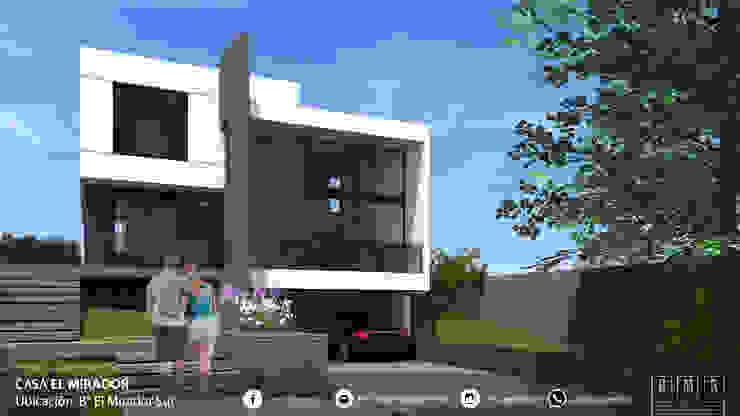 Detached home by BM3 Arquitectos, Modern Concrete