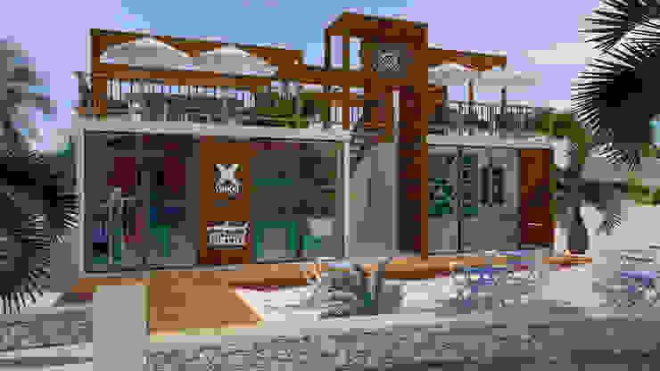 Art.chitecture, Taller de Arquitectura e Interiorismo 📍 Cancún, México. สระว่ายน้ำ