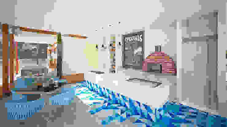 Art.chitecture, Taller de Arquitectura e Interiorismo 📍 Cancún, México. ห้องครัว