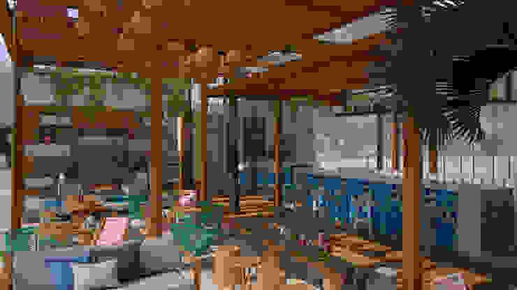 Art.chitecture, Taller de Arquitectura e Interiorismo 📍 Cancún, México. ห้องทานข้าว